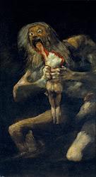 Saturno devorando a su hijo - Goya