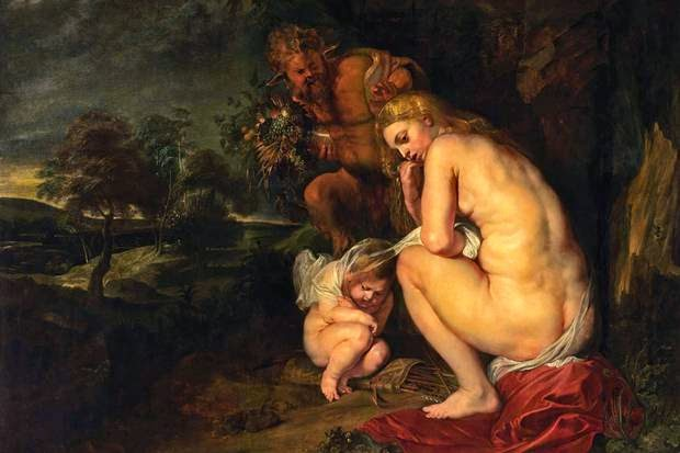 Rubens's Venus Frigida, 1614
