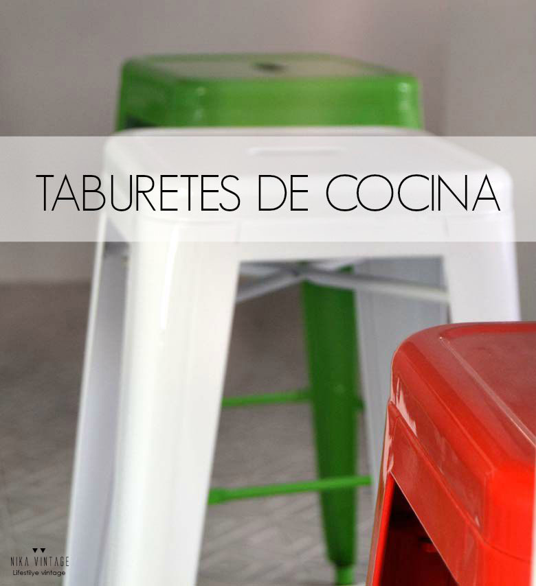 Taburetes de cocina nika vintage - Taburetes de cocina ...