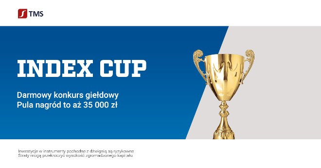 Konkurs inwestycyjny Index Cup! Start już 25 września!