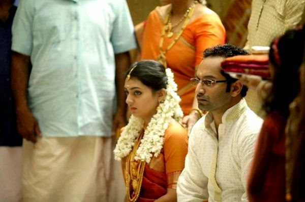 Actress Nazriya weds producer Fahad Fazil today 21st Aug 2014, Nazria weddinga day photo