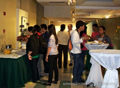 bloggers and guests at the Food for Thought event