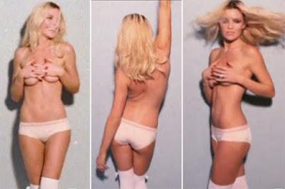 Abbey Clancey Foto  Istri Peter Crouch Bikini & Telanjang Dada di Love Magazine