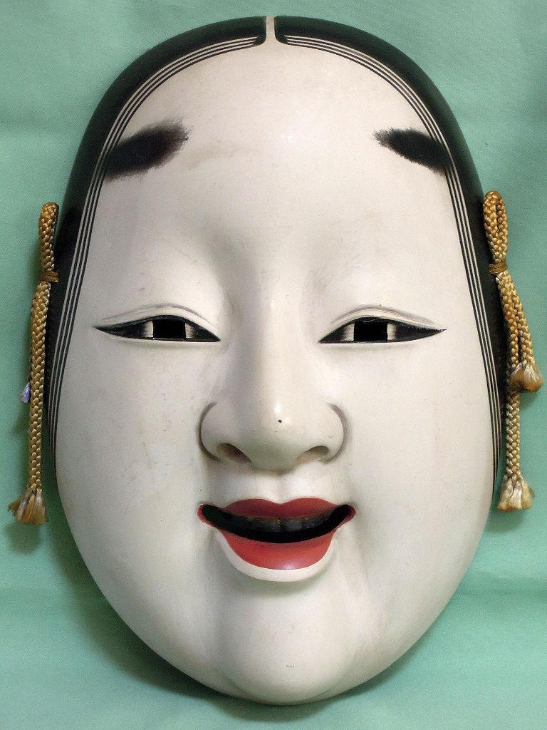 maschera giapponese bocca anime