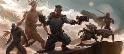 Guardians of the Galaxy,concept art,movie,capes on film