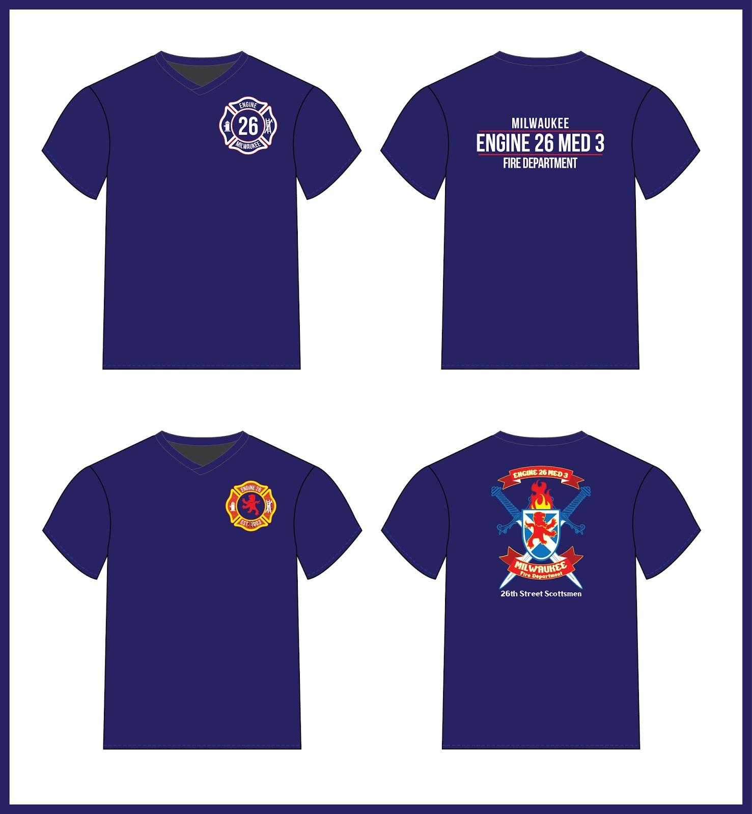 Hardrath design creative spontaneity milwaukee fire for Fire department tee shirt designs