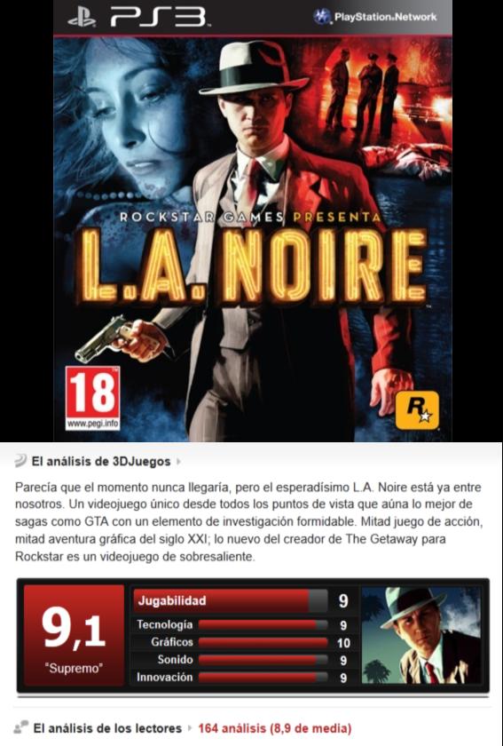 L.A. Noire [PS3][Multi][3.55]