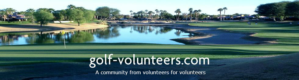 Golf Volunteers