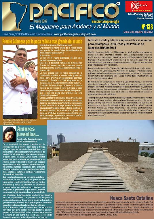 Revista Pacífico Nº 138 Arqueología