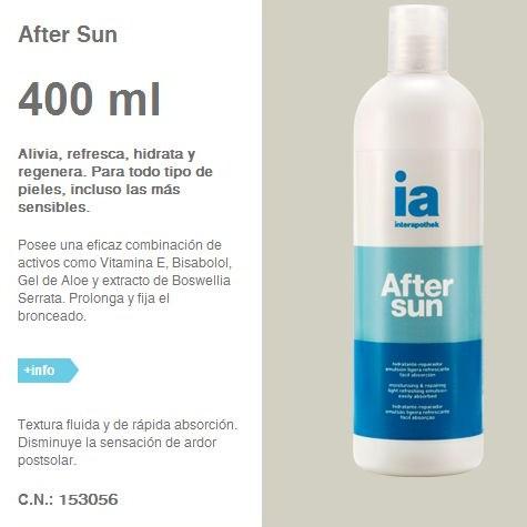 Consejos de Farmacia: para qué sirve el after-sun