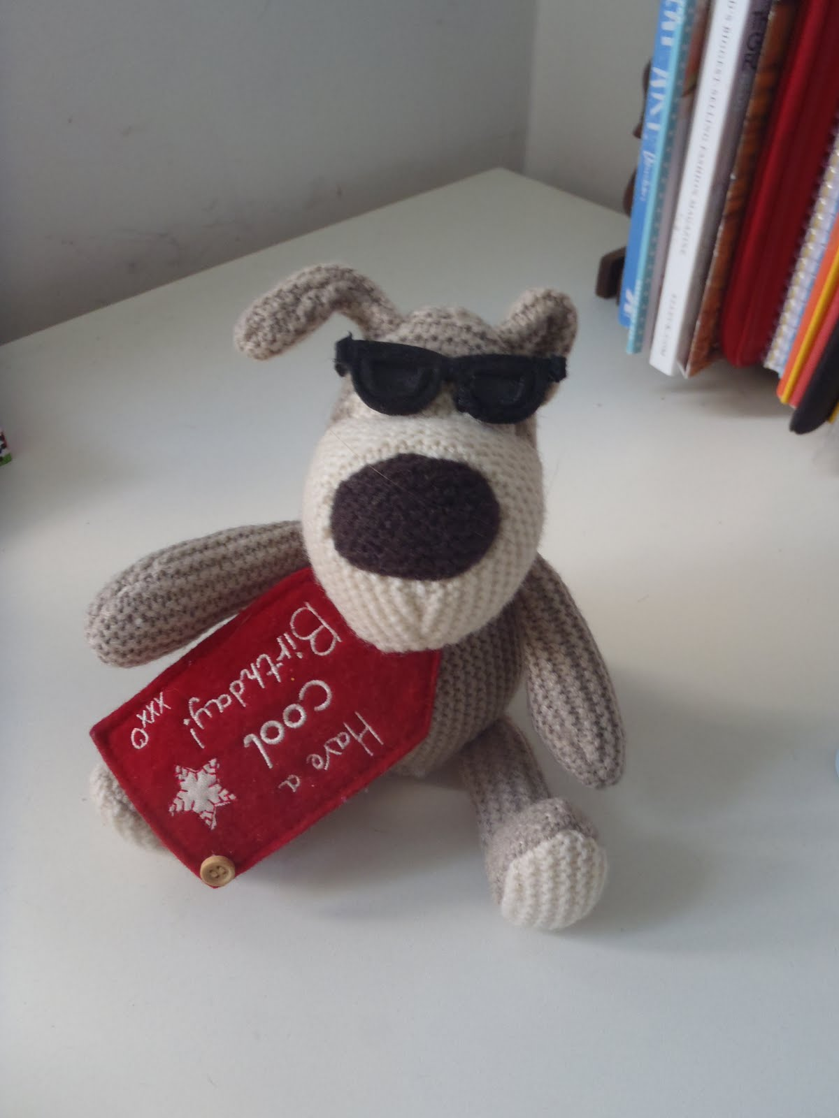 Boofle Knitting Pattern : Confessions of an Oxfordshire stitcher: B,C,D:Boofle, Crochet and Dogs!