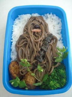 Tartera Chewie hechos con comida