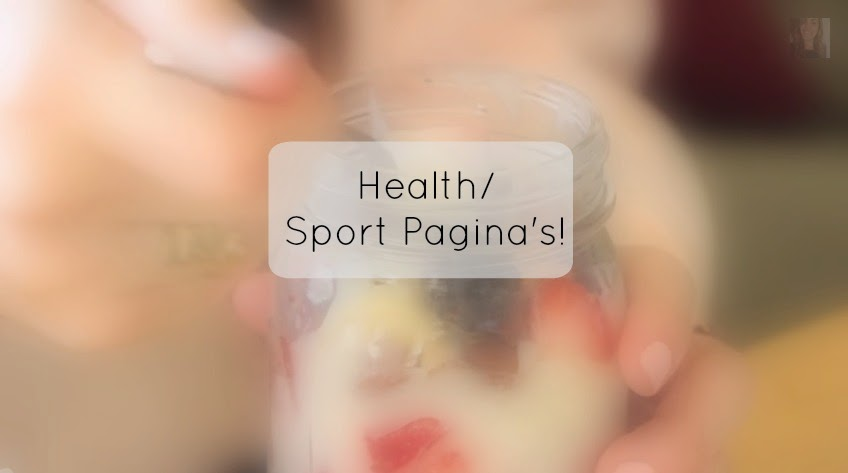 favoriete health sport pagina's