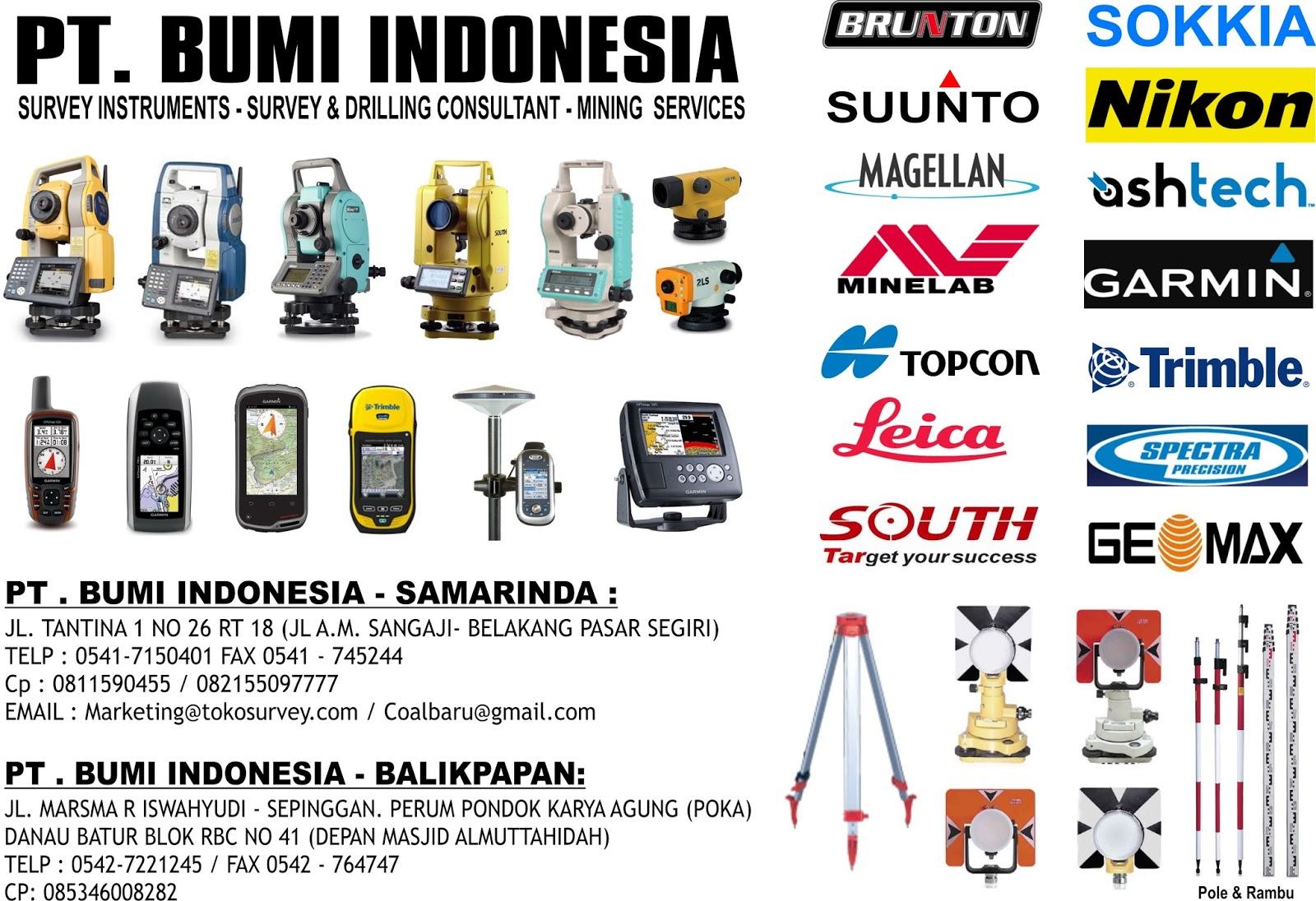 Jasa Sondir Dan Bor Spt Samarinda Pt Bumi Indonesia Toko Alat Survey Dan Geology Balikpapan 0811590455 Pt Bumi Indonesia