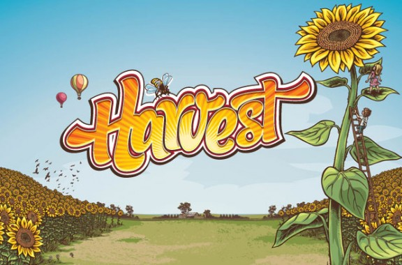 Harvest Samba - Words on Screen Original