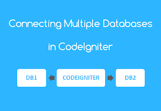 Connect to Multiple Databases in CodeIgniter
