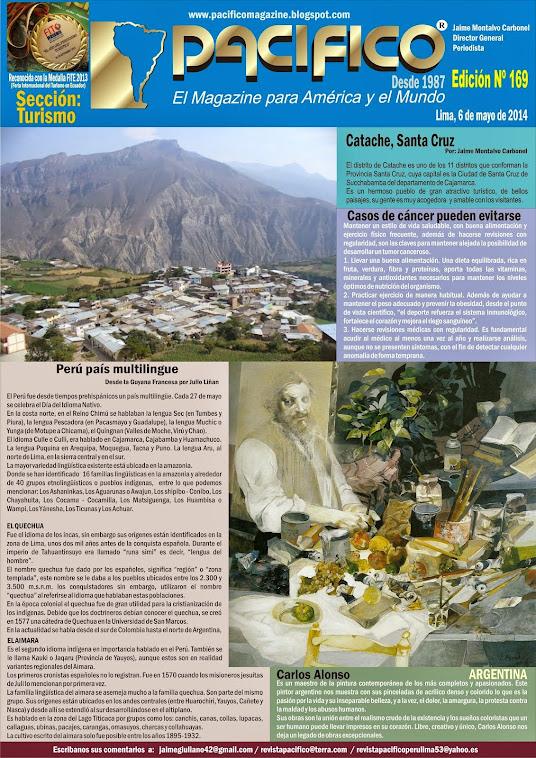 Revista Pacífico Nº 169 Turismo