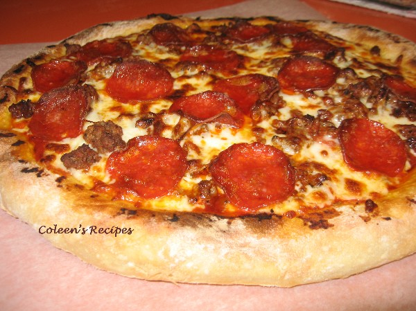 Coleen's Recipes: NO KNEAD PIZZA DOUGH