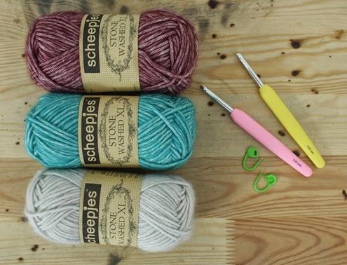 Bobble stitch wrist warmers - Crochet tutorial