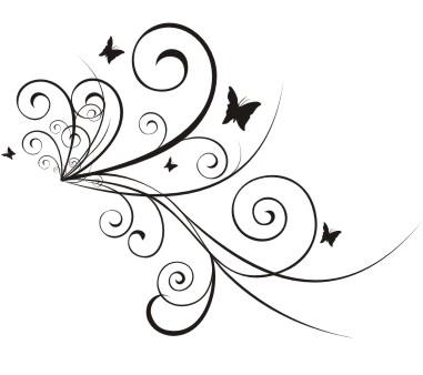 Los arabescos en el tatuaje for Adornos para paginas