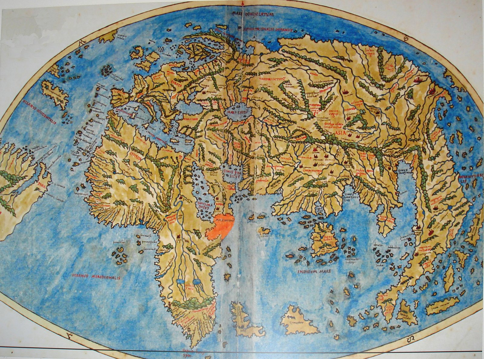 Ancient world maps world map 16th century description world map of pietro coppo 1470 1555 from veniceitaly published in 1520 gumiabroncs Choice Image