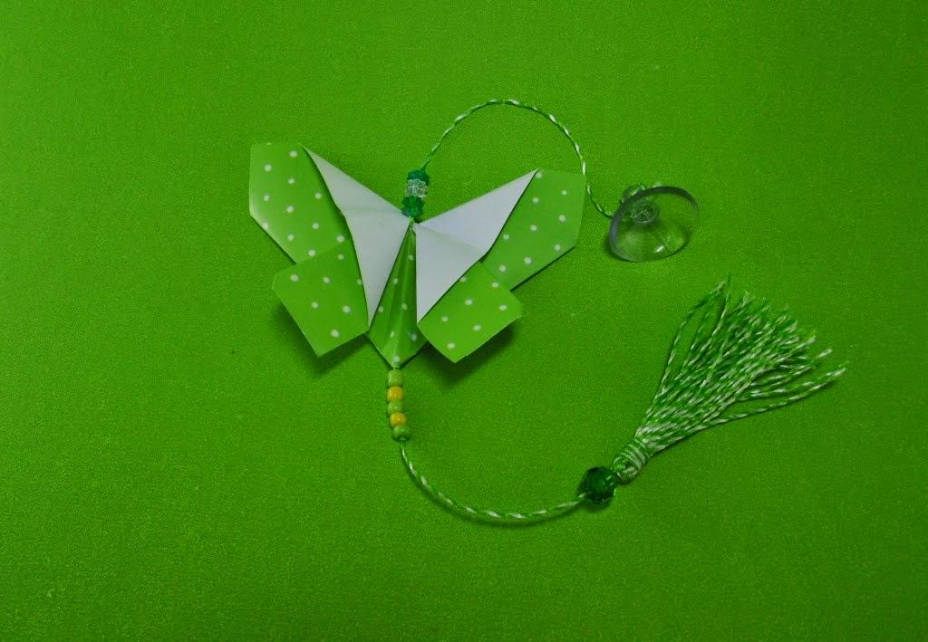 borboleta de origami