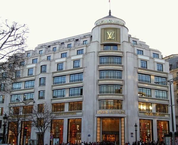 Espaço Cultural Louis Vuitton em Paris