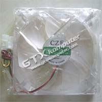 Fan Casing 12 cm Transparan + Lampu - Image by www.gtx-komputer.com