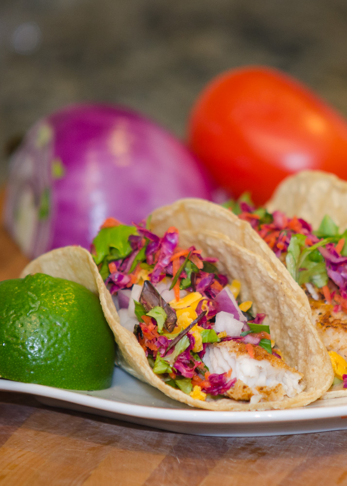 Make Tilapia Fish Tacos Baja Style at Home