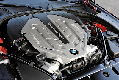 2012 BMW 6 Series Engine