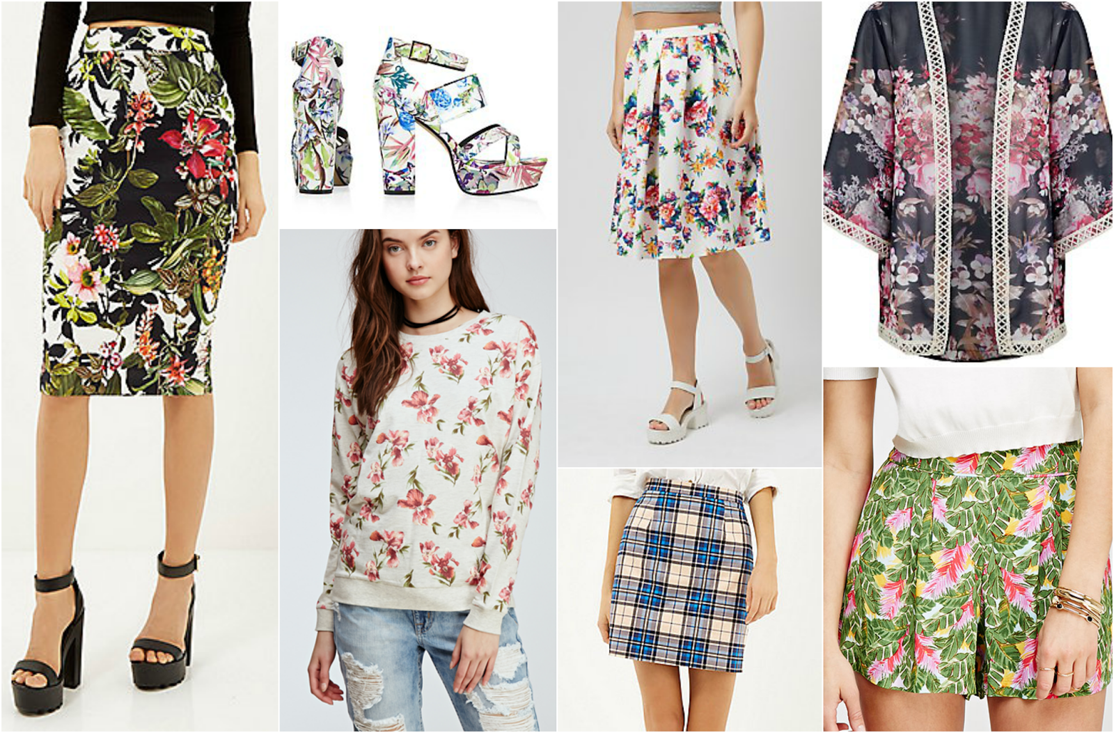 spring style fashion trends new look asos river island forever 21