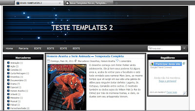Template Editable Full - Blogger
