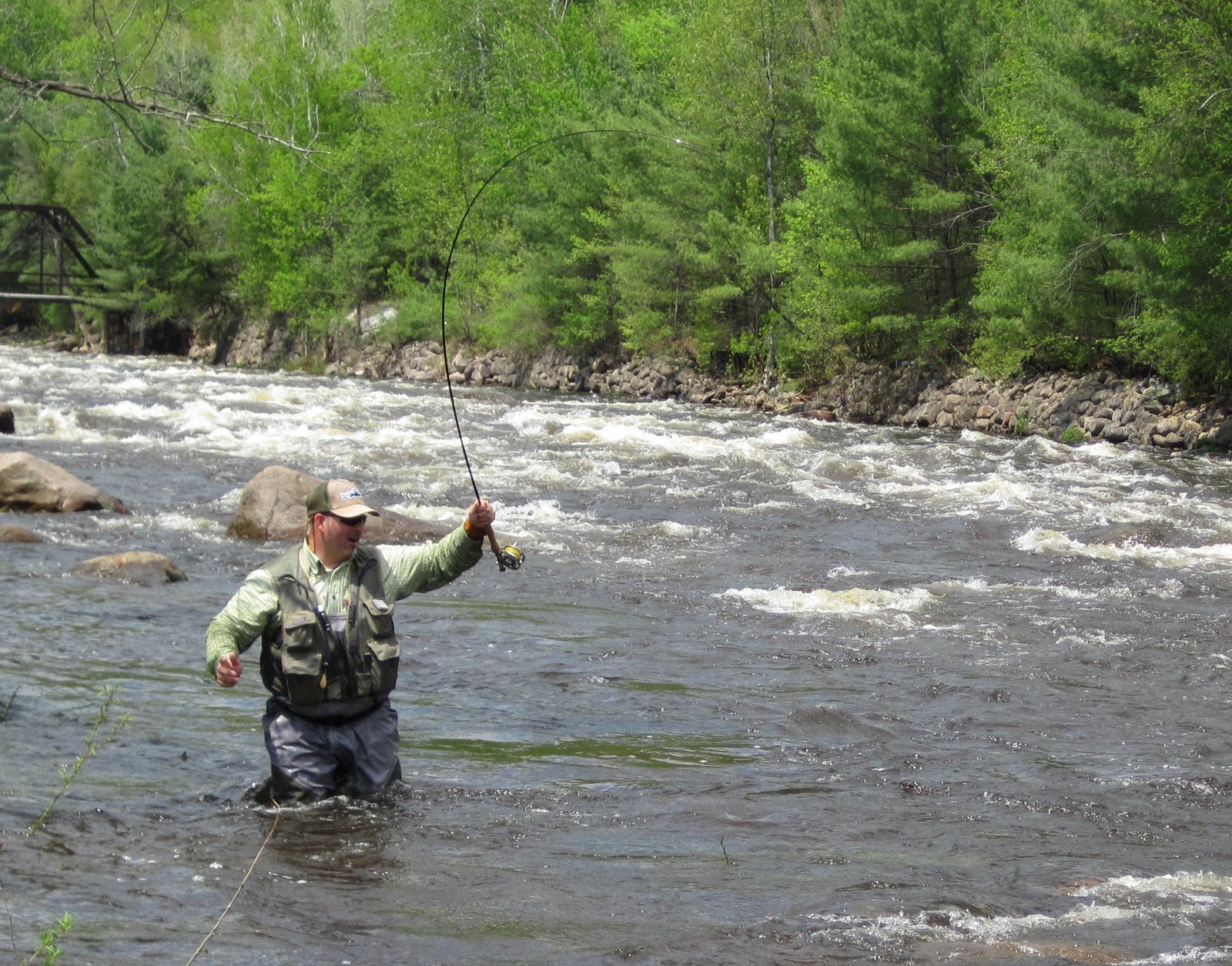 Ruff Waters Fly Fishing: European nymphing the Ausable River