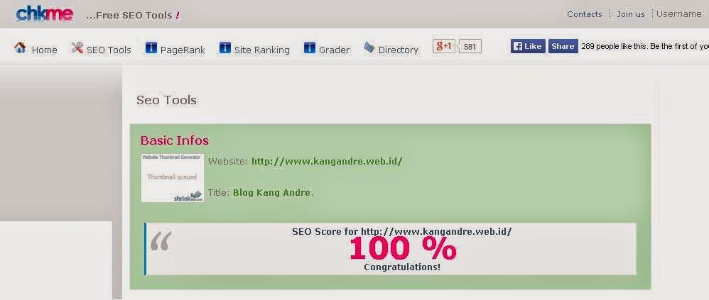 chkme.com untuk melihat skor SEO chkme.com untuk melihat skor SEO
