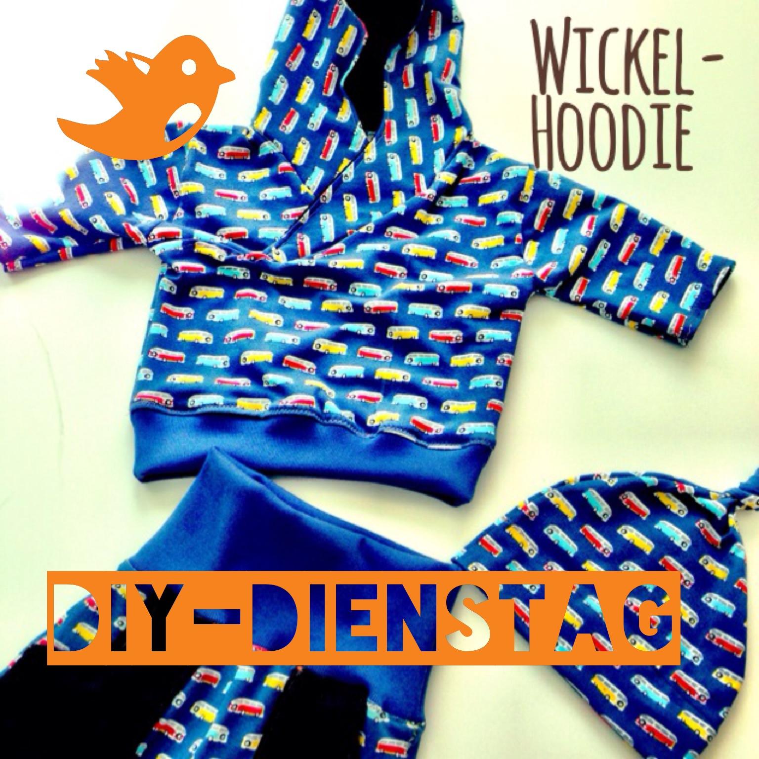 hei baby !: Wickel-Hoodie für die Kleinsten - DIY-Dienstag!