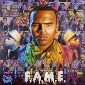 News // Chris Brown – F.A.M.E (Artwork)