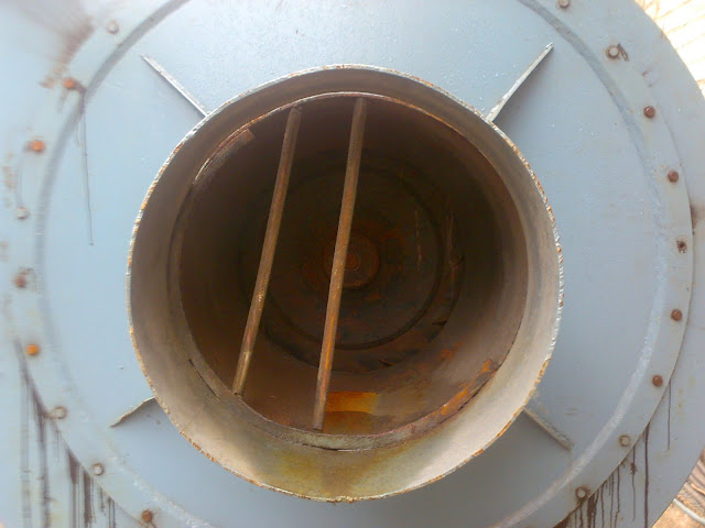 Sulfuric Acid Plant image of blower to suck the air or oxegen, front view