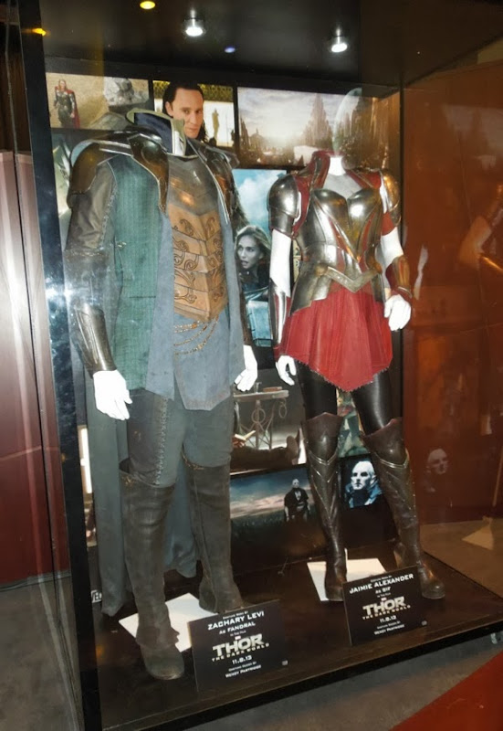Original Fandral Sif movie costumes Thor Dark World