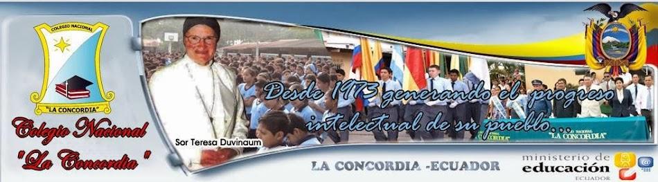 COLEGIO DE BACHILLERATO FISCAL LA CONCORDIA