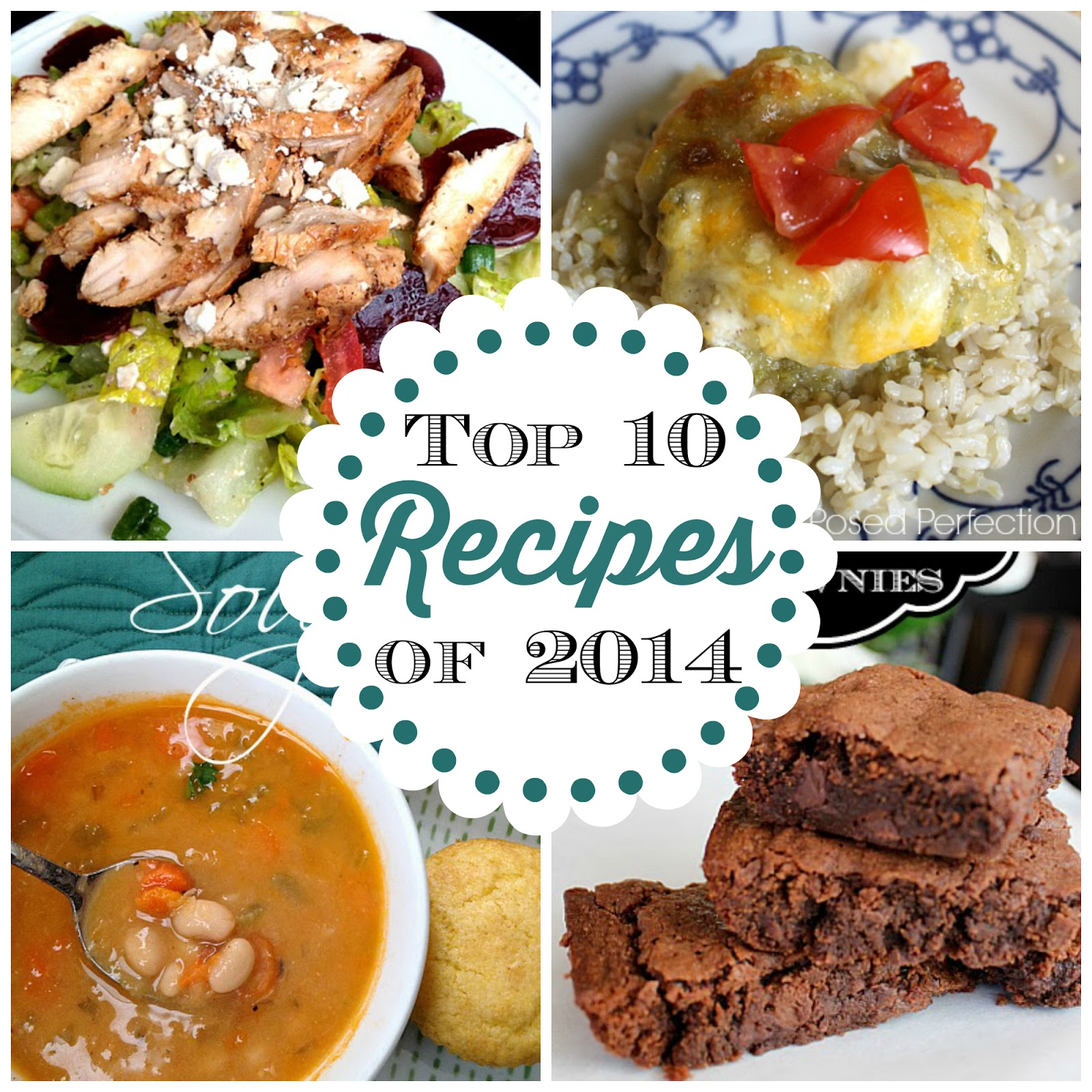 Posed Perfection's Top 10 Recipes of 2014
