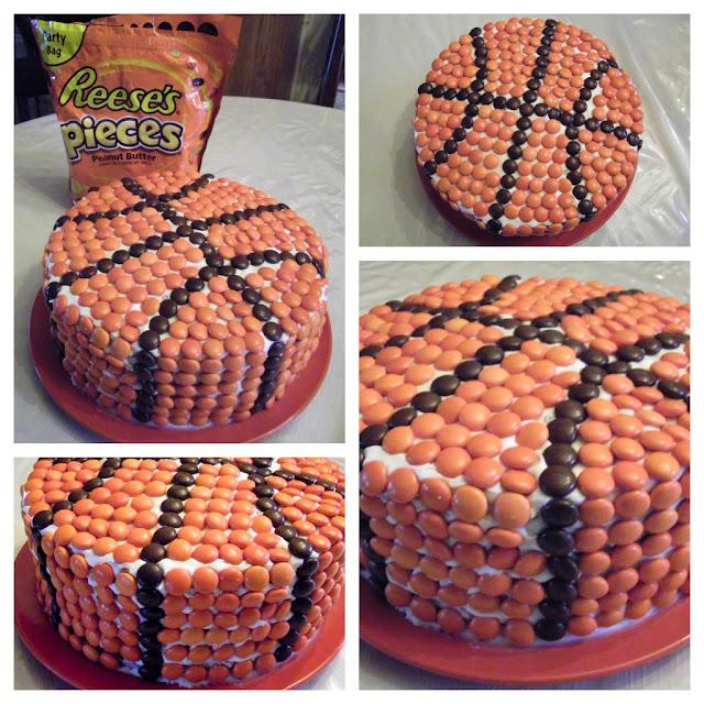 Pastel pelota de baloncesto. Tutorial.   Ideas y material ...