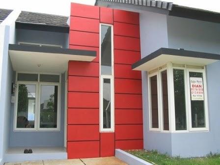 perpaduan warna cat rumah minimalis modern desain rumah