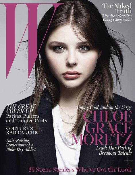 Chloë Moretz by Craig McDean for W Magazine October 2013
