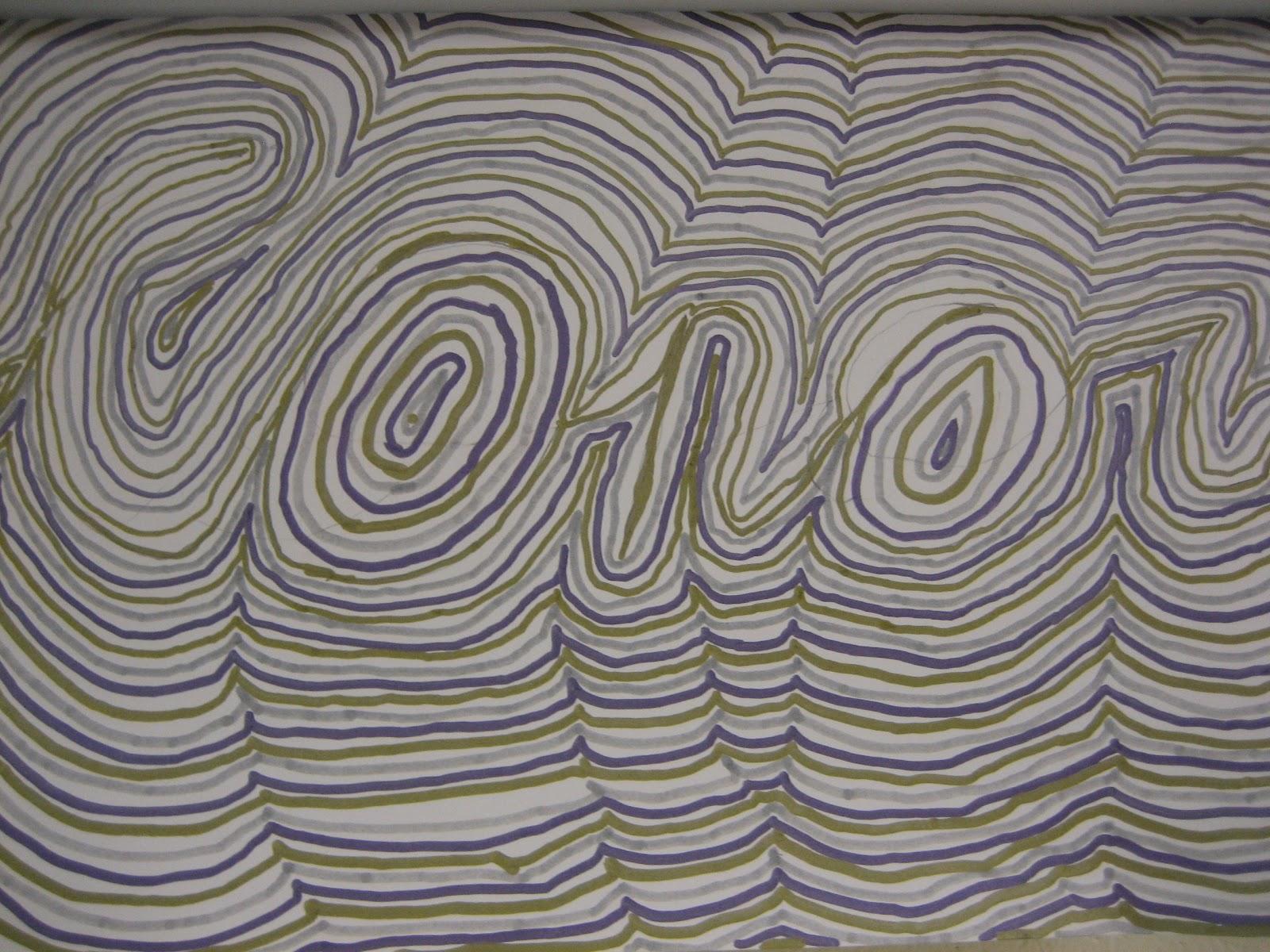 Line Design Op Art : Creations from young minds fourth grade line design op art