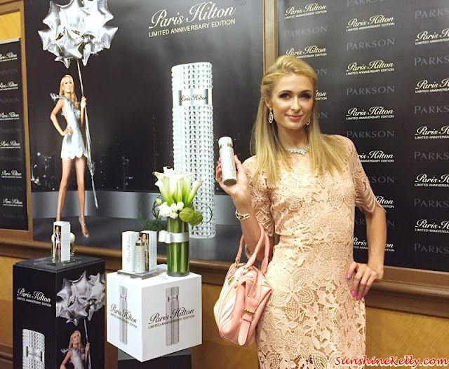Paris Hilton in KL, Paris Hilton Limited Anniversary Edition, Paris Hilton, Paris Hilton Fragrance, Paris Hilton Perfume