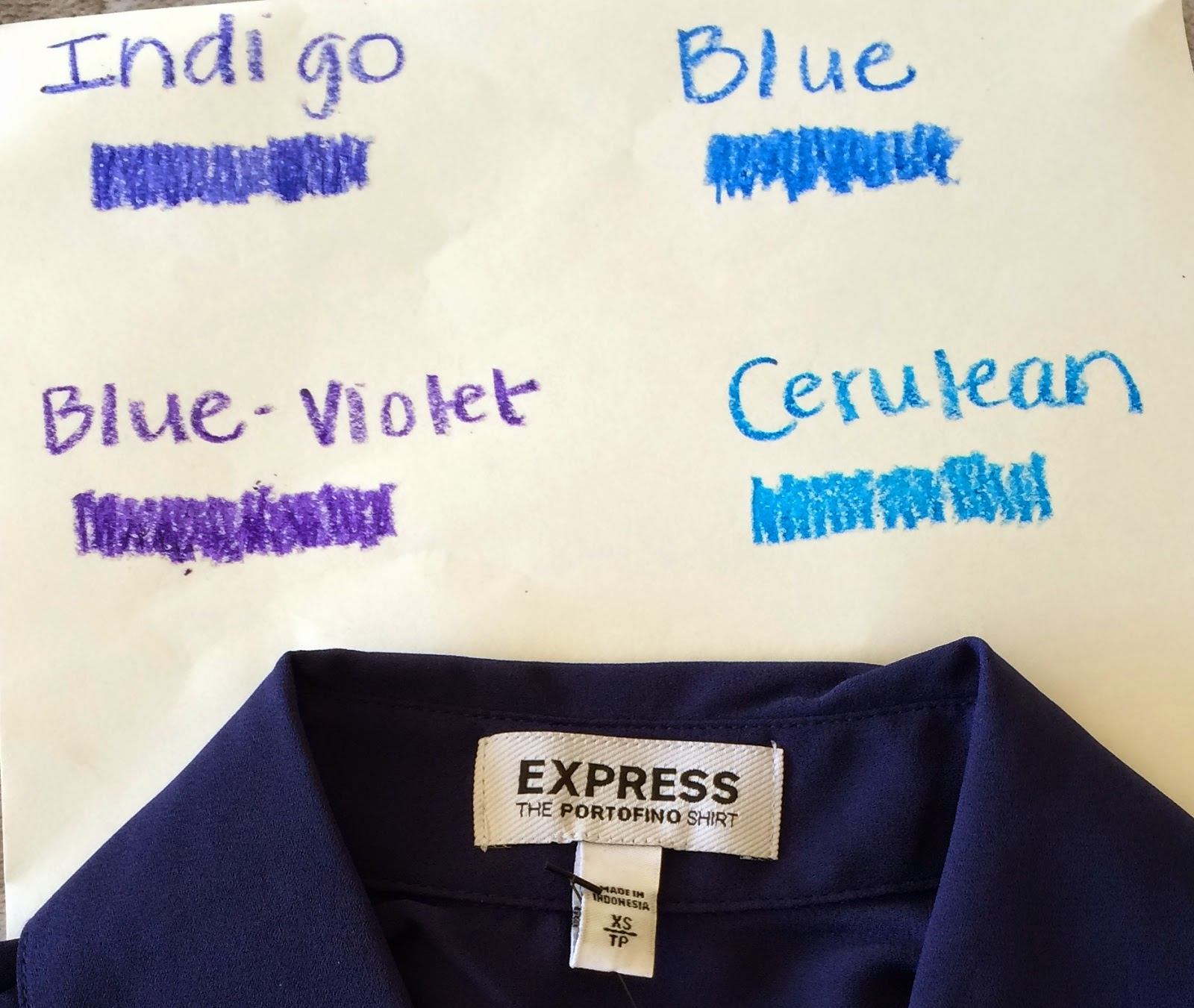 Royal blue vs navy blue i thought royal blue