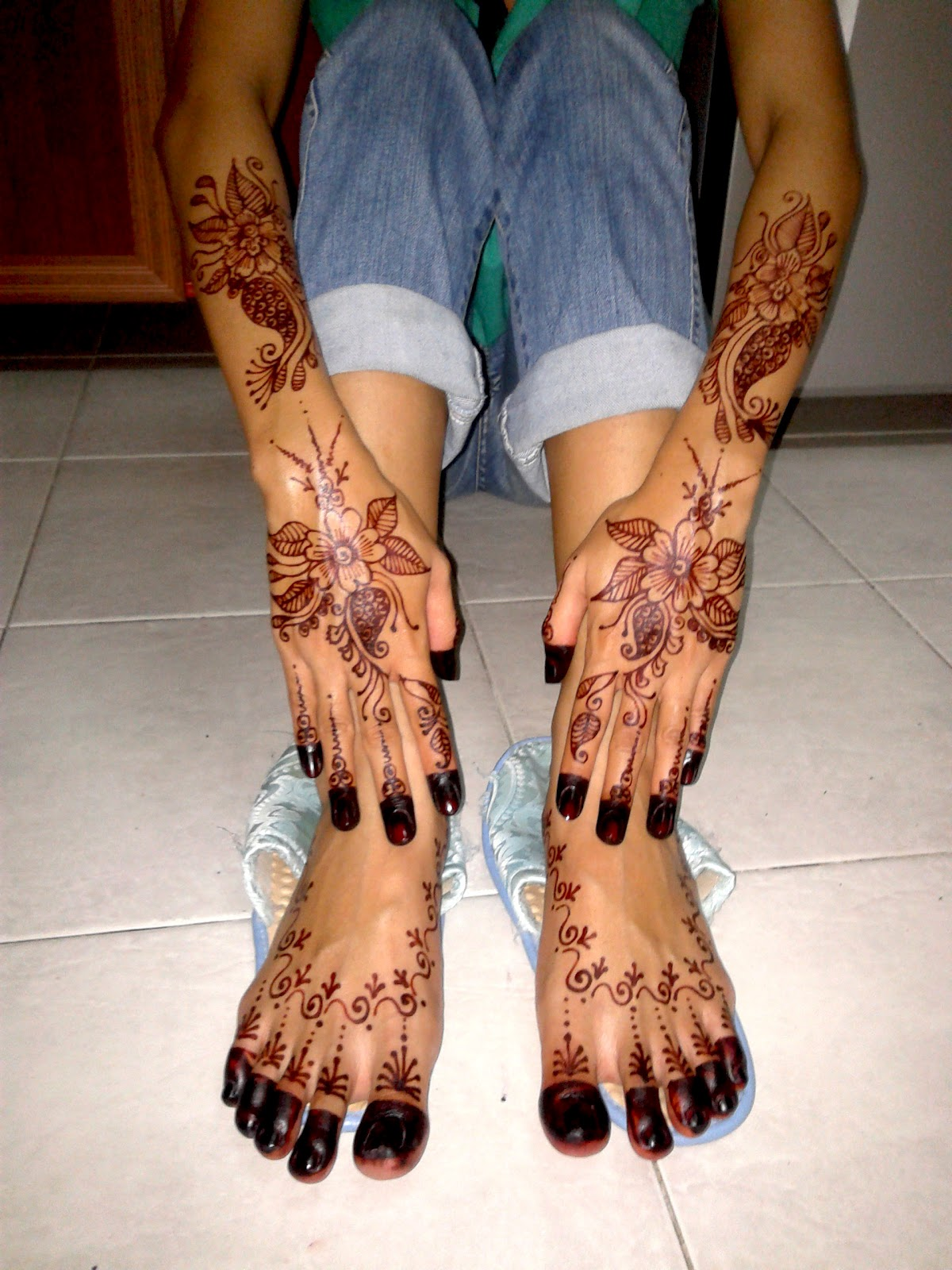 Tips For Henna Scribbledydum Mira Cikcit