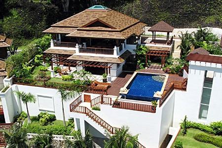 Bedroom Villa Rental With Sea Views In Patong Phuket