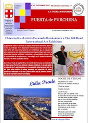 Revista Puerta de Purchena - Nº 25, septiembre 2017, publican los micro relatos: La duda y Huida
