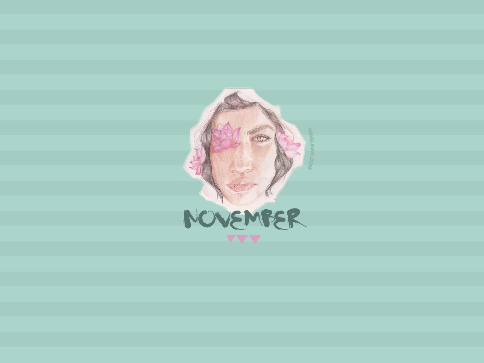 November Wallpaper Niabunny.com